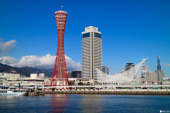 Pesona Kobe Port Tower, Landmark Kota Kobe