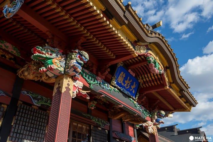 大杉神社の拝殿