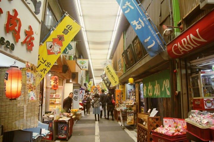 【北九州】昭和氛圍氣息濃厚的在地廚房「旦過市場」