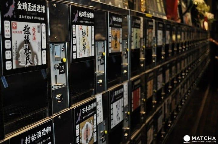 ดื่มสาเกญี่ปุ่น 5 ชนิดในราคา 500 เยนที่ พนชุคัง นีงาตะ (Ponshukan, Niigata)