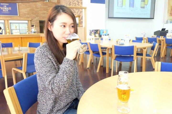 ชิมฟรีๆ  !วิธีเที่ยวโรงงานเบียร์มุสะชิโนะให้สนุก