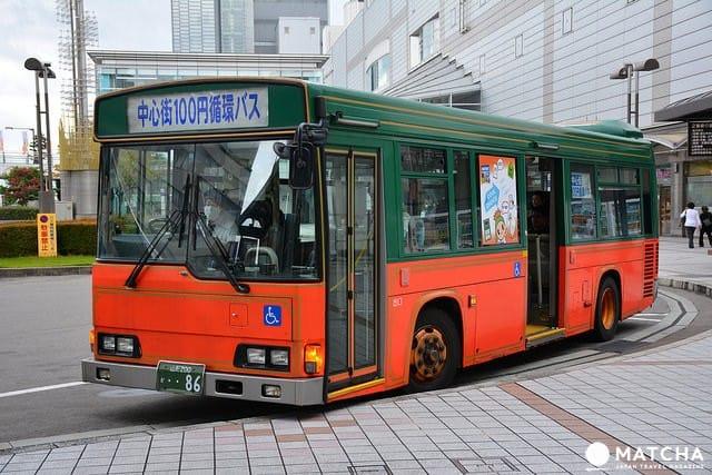 山形市百圓巴士