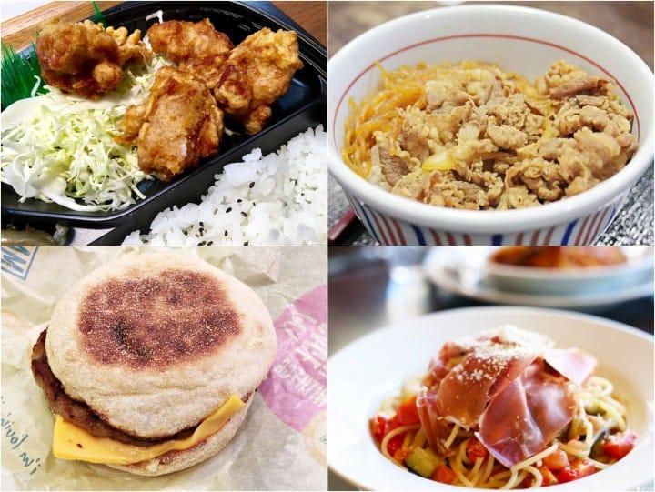 日本一天餐費