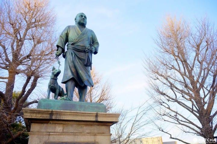 มาถ่ายรูปกับรูปปั้นวีรบุรษอย่าง 「ทะคะโมะริ ไซโกะ」ผู้สร้างรากฐานญี่ปุ่นสมัยใหม่กันเถอะ!