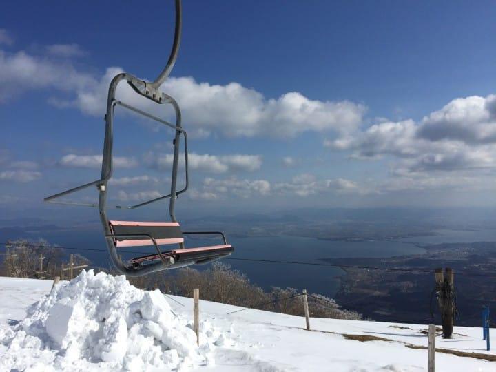 『滋賀縣』琵琶湖雪場 滑雪賞湖景一次滿足