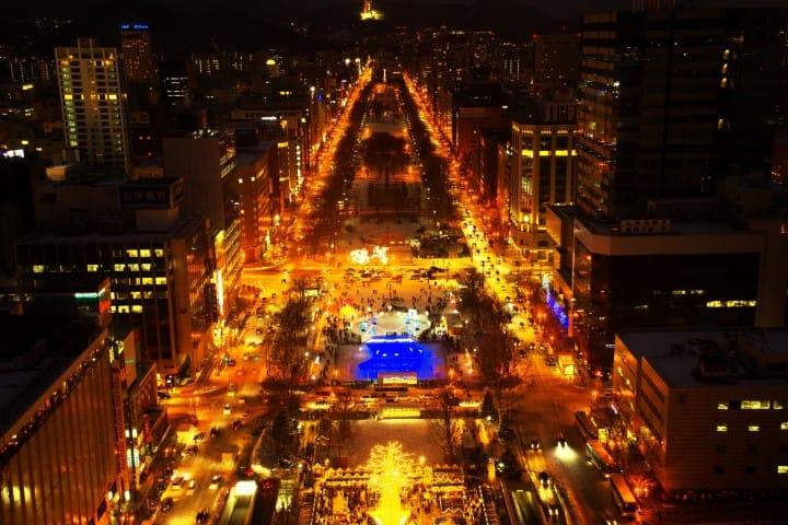 【北海道】札幌一日游不用一万日元!赏花、博物馆、夜景、美食、交通、住宿通通包