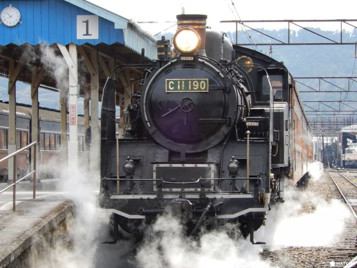 A Memorable Excursion By Steam Locomotive Along Oigawa River