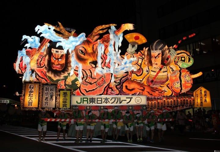 【青森県】北国の熱い夏を体感! 青森ねぶた祭り〜2017年の開催日・アクセス・楽しみ方など〜
