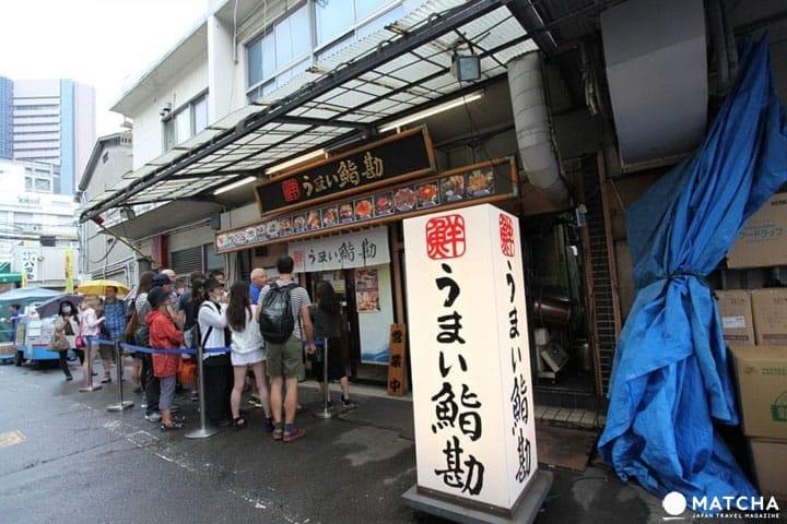 แนะนำ 5 ร้านซูชิ・ข้าวหน้าปลาดิบในซึคิจิที่สื่อสารภาษาอังกฤษได้