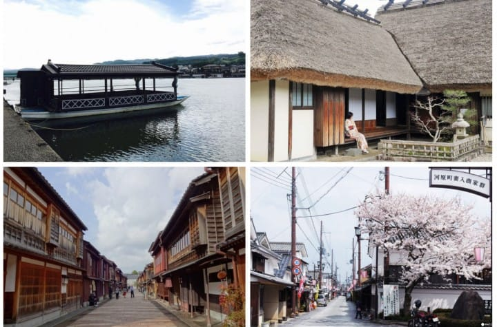 小京都可不是亂叫的!不用到京都一樣能享受古風情調的日本小京都5選
