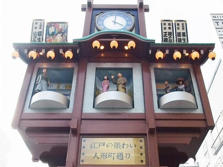 Hats Off To The Karakuri Yagura In Ningyocho, Tokyo