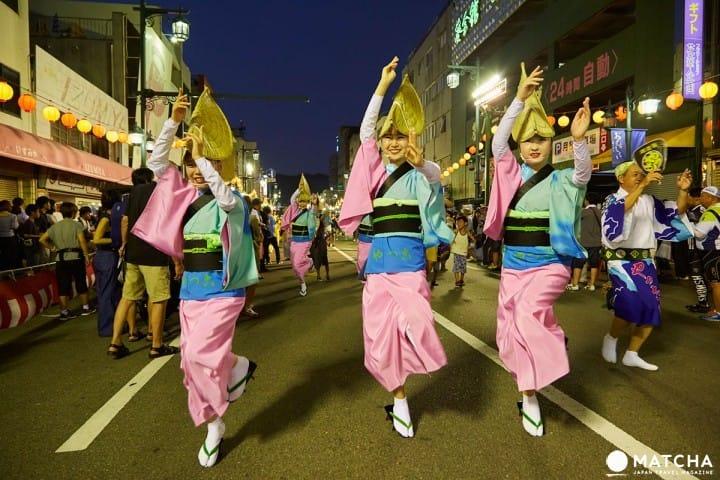 Awa Odori - Tokushima's Exciting Summer Festival!