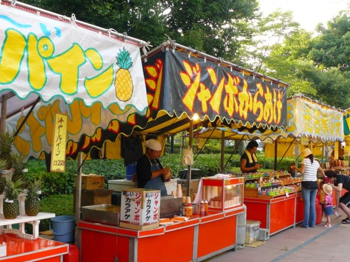 Popular Festival Food In Japan