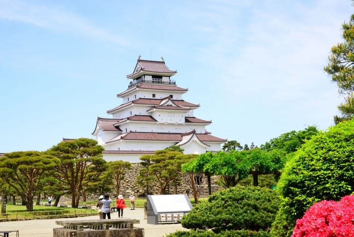 Tsurugajo Castle In Fukushima - Access And Highlights