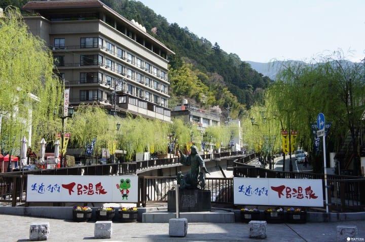 【岐阜】悠閒漫步日本三大名泉之一「下呂溫泉」