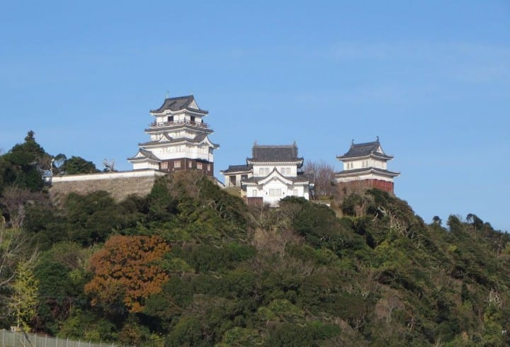 Nagasaki Prefecture – A Magnificent View From The Hirado Castle Tower!