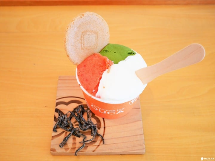 Taste Seasonal Japanese Ice Creams At Japanese Ice Ouca In Ebisu!