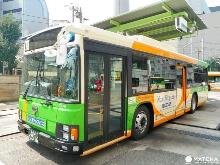 【交通攻略】東京小小的巴士 給你大大的方便