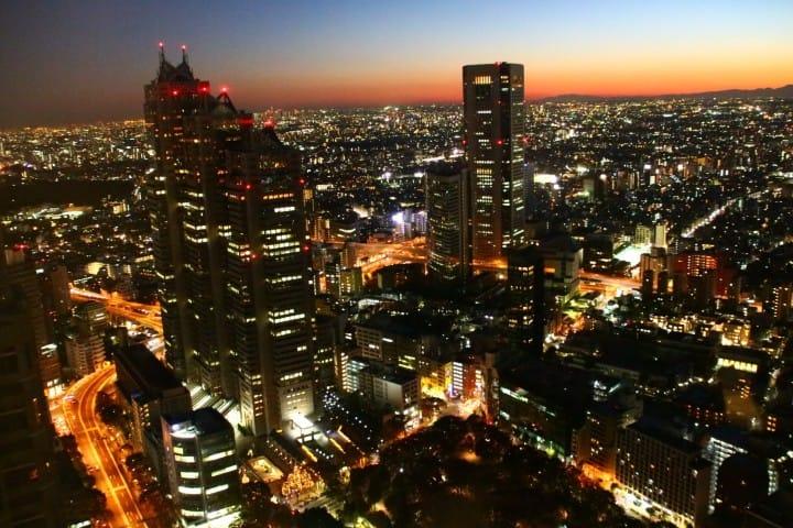 俯瞰東京去哪裡?都內的免費展望台總匯