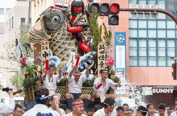 【抹茶讲堂】:山车与神轿的不同以及山车登场的节日祭礼总结等