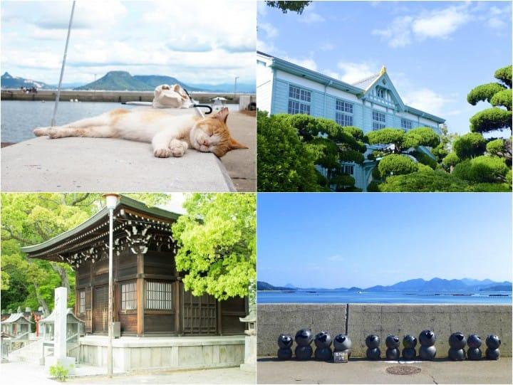 『濑户内海』那些只看过却没踏过的岛上景点:男木岛,小豆岛,粟岛篇