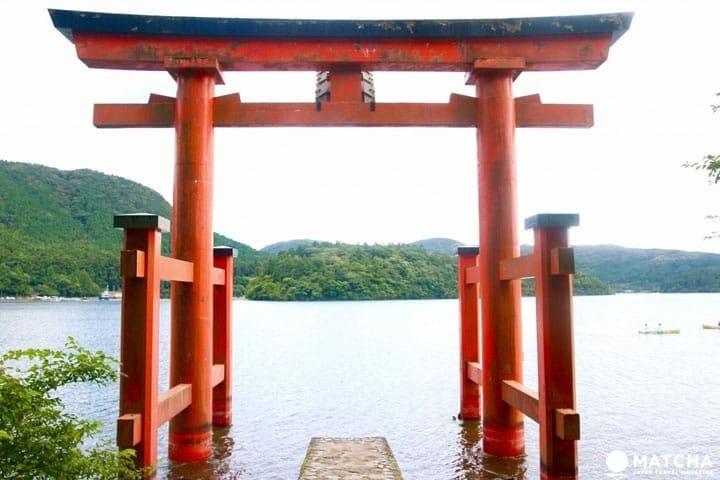 鳥居-箱根神社
