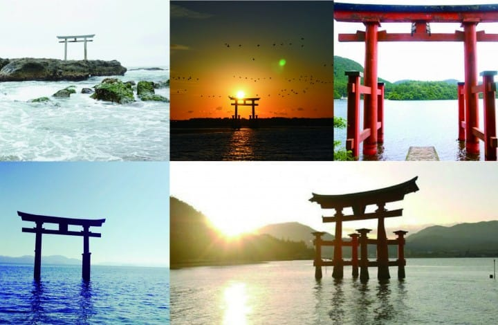 日本限定的梦幻绝景,水上鸟居五选