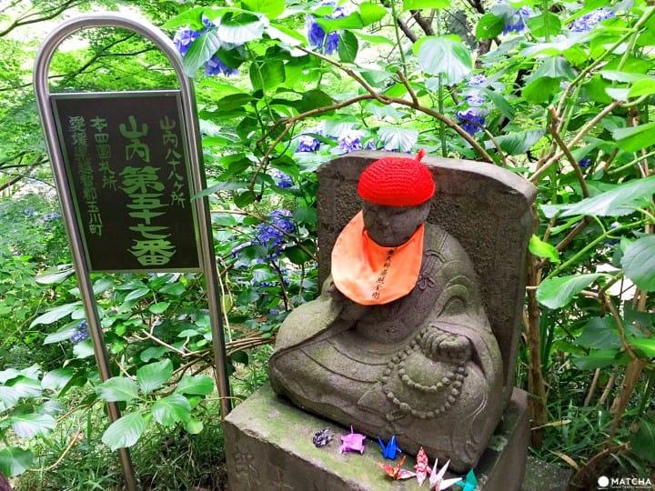 「東京近郊」外國遊客不知道,在地人都愛去的繡球花秘境-高幡不動尊
