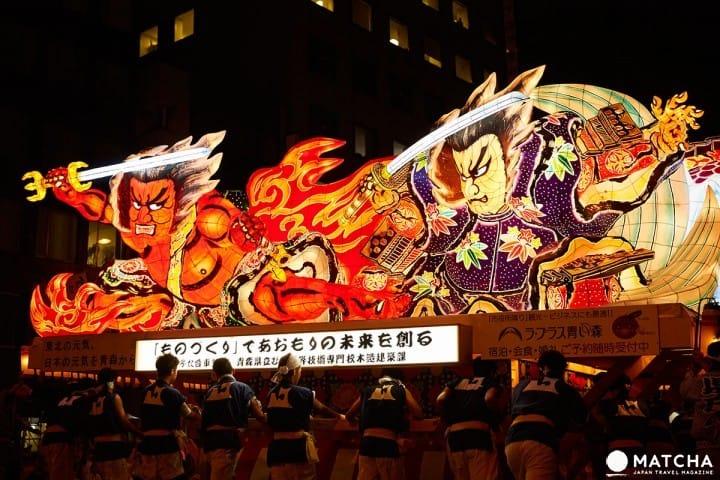 【青森縣】青森睡魔祭典「2019年攻略」,感受東北三大祭的熱鬧氣氛!