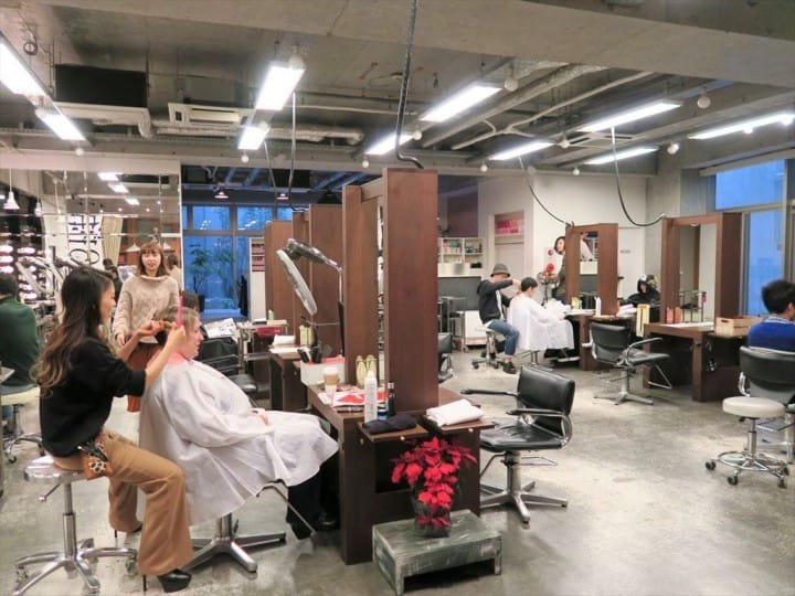 Hasil gambar untuk japan hair salon