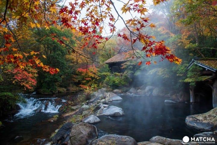 【熊本】走訪黑川溫泉,感受被大自然包圍的幽靜氛圍