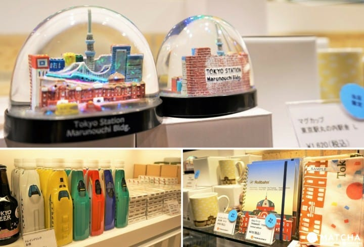 TRAINIART TOKYO - Find Great Train Souvenirs At Tokyo Station Gransta