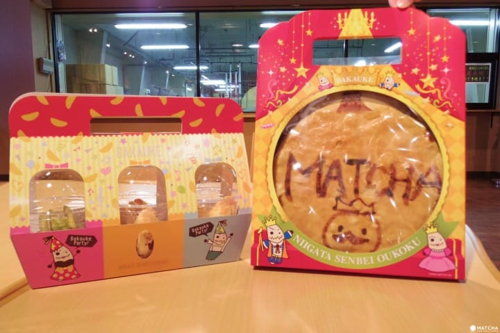 Make Your Own Senbei Crackers At The Niigata Senbei Kingdom!