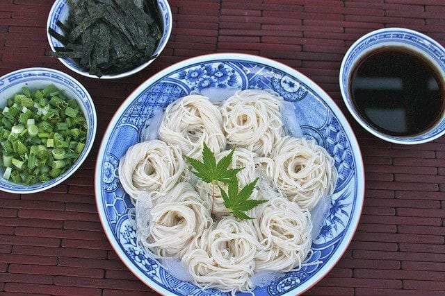 Chilled Somen Noodles - A Refreshing Summer Dish