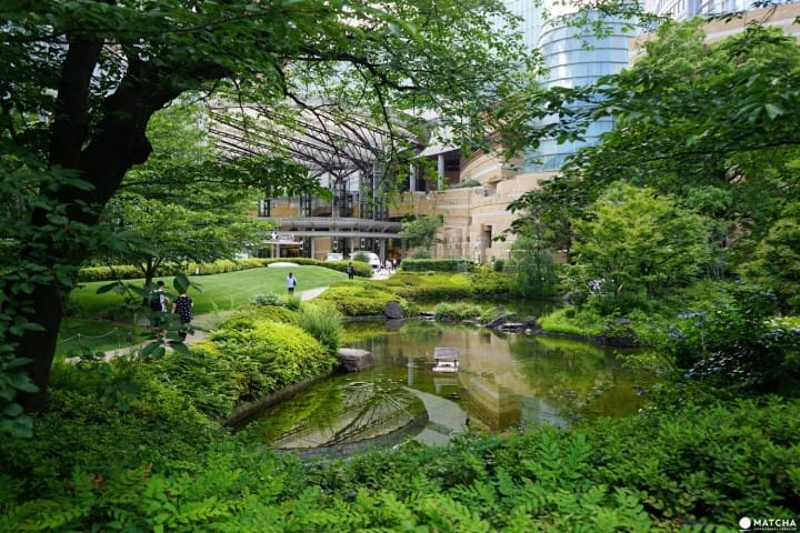 Mohri Garden In Roppongi - Taking A Break From The City In The City