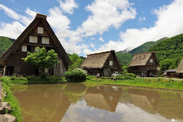 Wada House A Traditional Thatched Roof House In Shirakawa