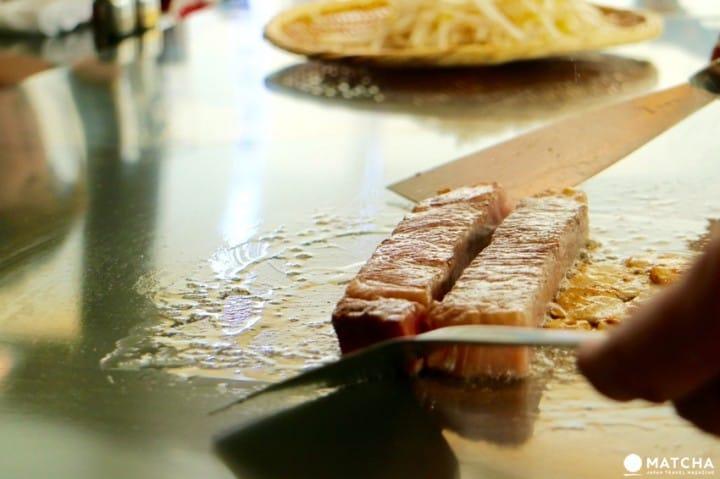 鉄板焼きの元祖「みその」で憧れの神戸ビーフを食べよう!