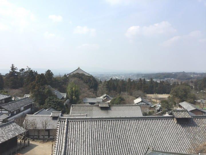 站上【奈良】二月堂舞台 遠眺靜謐美景