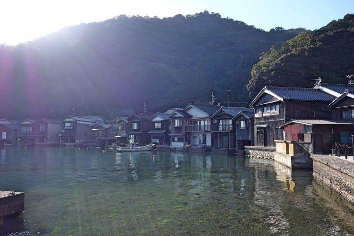 「海之京都」伊根町:舟屋與浦島太郎的傳說之地
