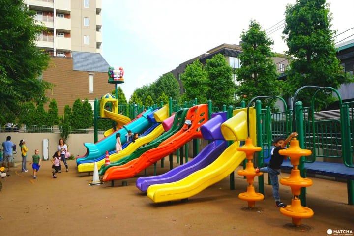 Sakurazaka Park - A Fun, Robot Themed Park In Roppongi