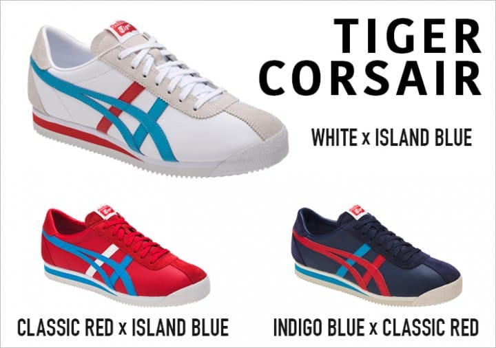 quite nice 9e443 98ab5 Onitsuka Tiger's TIGER CORSAIR Sneakers At Discount Prices ...