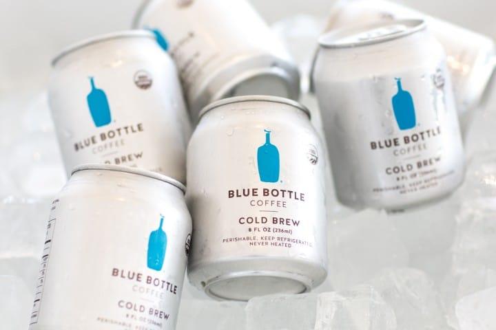 咖啡愛好者別錯過!「BLUE BOTTLE」藍瓶咖啡夏季限定罐裝冰咖啡限量開賣!
