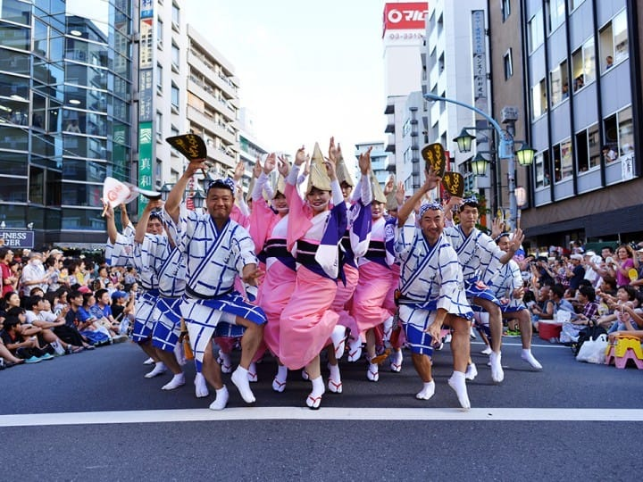 今年夏天一起跳進「東京高圓寺阿波舞祭」中吧!