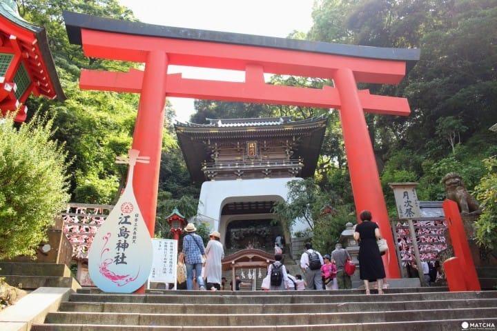 """【神奈川县】有很多值得一见的地方!祭祀多位神明的""""江岛神社"""""""