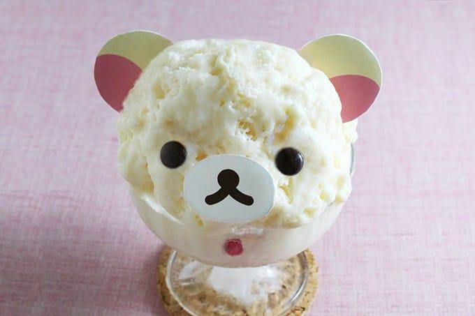 少女心也要好好消暑,「拉拉熊」咖啡廳期間限定新口味刨冰登場!