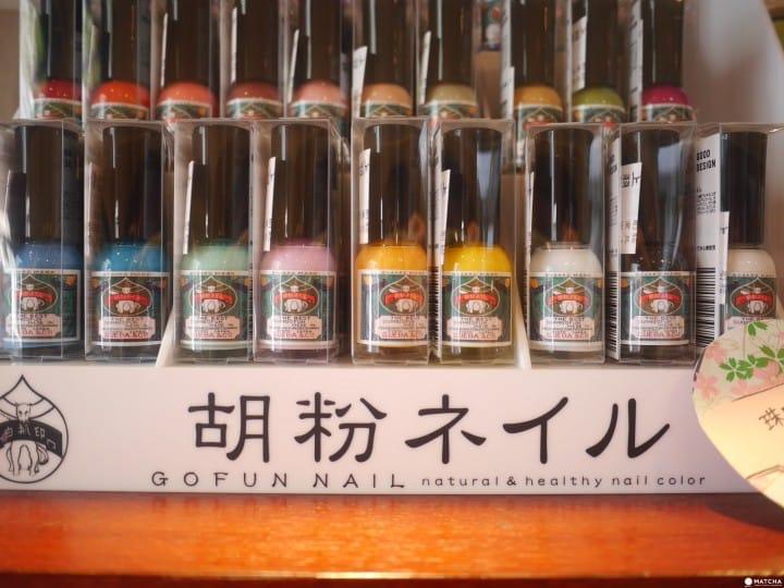 京都胡粉指甲油
