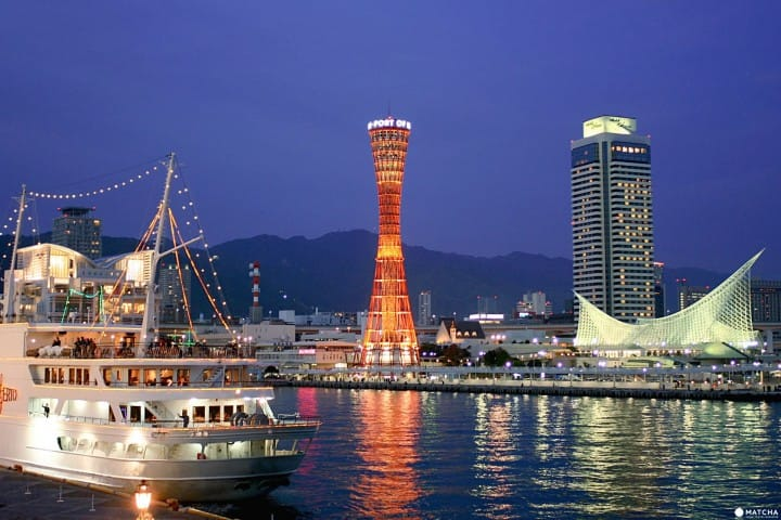 坐上CONCERTO 游船,沉醉于佳肴与音乐,饱览浪漫神户港夜景