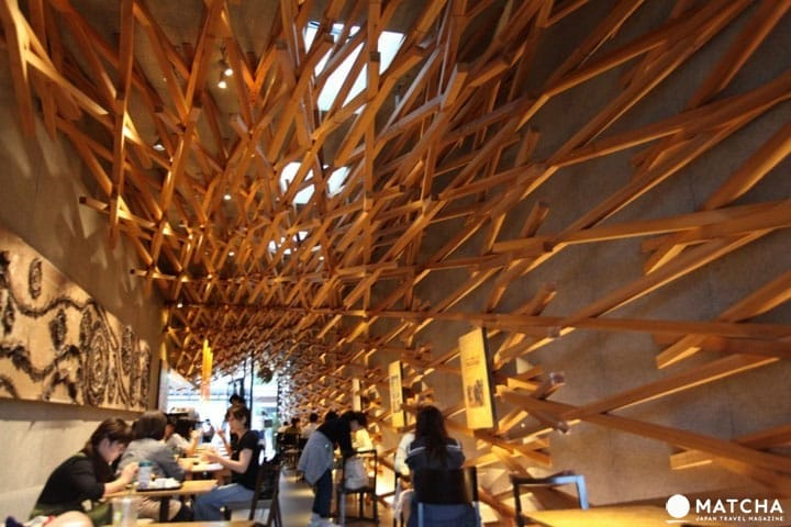 Starbucks ญี่ปุ่นสุดสวย อลังการงานไม้ที่