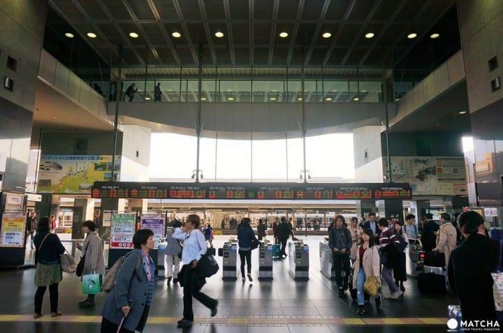 一分鐘搞懂京都車站