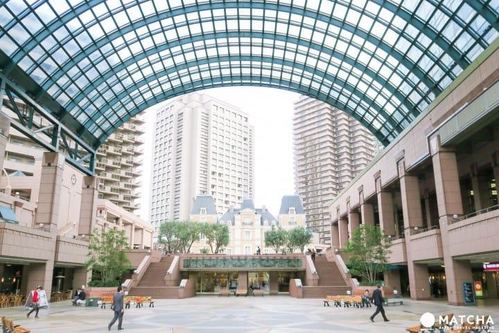 在充满文艺的惠比寿花园广场,与你浪漫相约